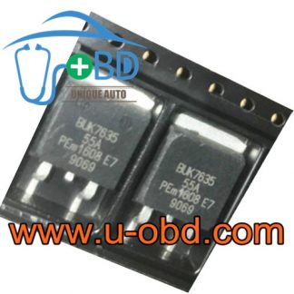 BUK7635-55A Volkswagen Touareg vulnerable transistors