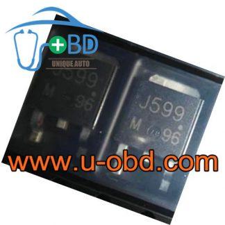J599 Widely used Ford ECU vulnerable driver transistors