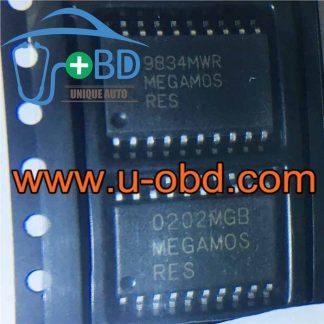 MEGAMOS-RES VOLKSWAGEN instrument cluster vulnerable chips