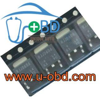 RJJ0606 MAZDA BCM vulnerable turn light transistors