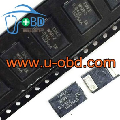 WSR-2 0.04R FORD ECU Vulnerable circuit protection resistor