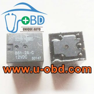 861-2A-C 12VDC Volkswagen Jetta turn light control relays