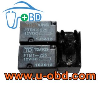FTB1-225 12VDC widely used Chevrolet BUICK vulnerable relays