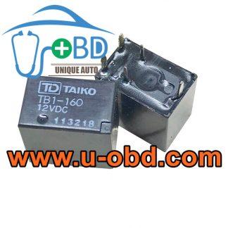 TB1-160-12VDC HONDA ACCORD vulnerable BCM relays