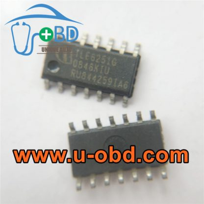 TLE6251G Instrument cluster communication chip