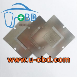 Automotive ECU BGA chip universal Reballing stencil kit