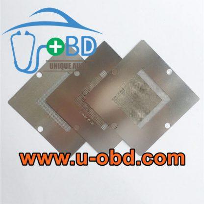 Automotive ECU BGA chip universal Reballing stencil kit