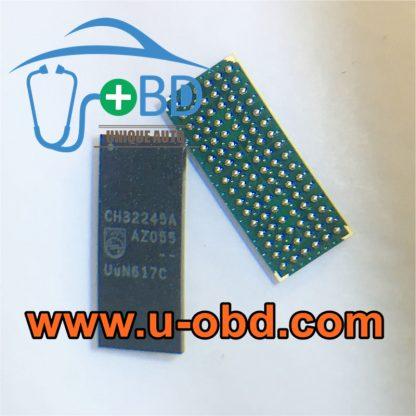 CH32245A BMW CCC head unit vulnerable BGA memory chip