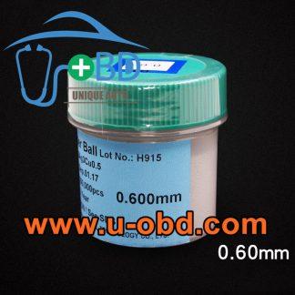 Pb free BGA reballing solder ball 0.6mm
