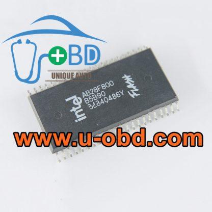 AB28F800B5B90 Automotive ECU commonly used Flash memory chips