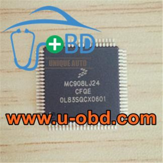 MC908LJ24CFQE automotive ECU vulnerable MCU chips
