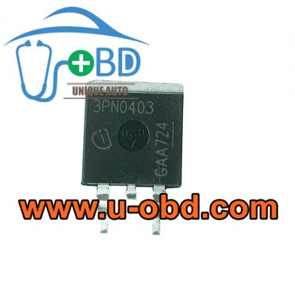 3PN0403 ABS Module commonly used vulnerable chips