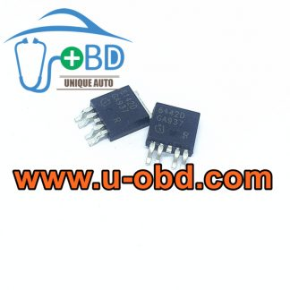 6142D GM CHEVROLET ECU Power supply vulnerable chips