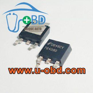 76409D VOLKSWAGEN ABS ECU ABS module vulnerable chips