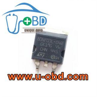 80NF03L-04 Automotive ABS ECU ABS Module vulnerable chips