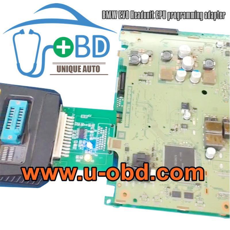 BMW EVO Headunit CPU programming adapter VVDI Prog adapter