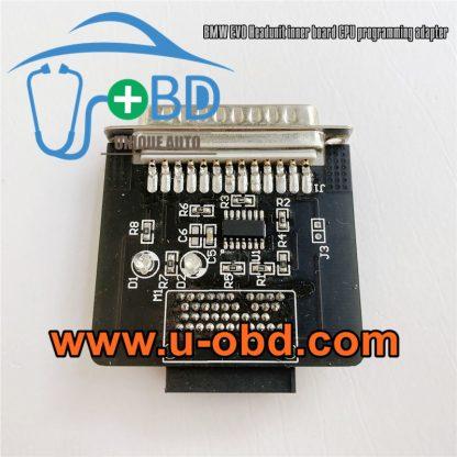 BMW EVO Headunit Control board CPU programming adapter