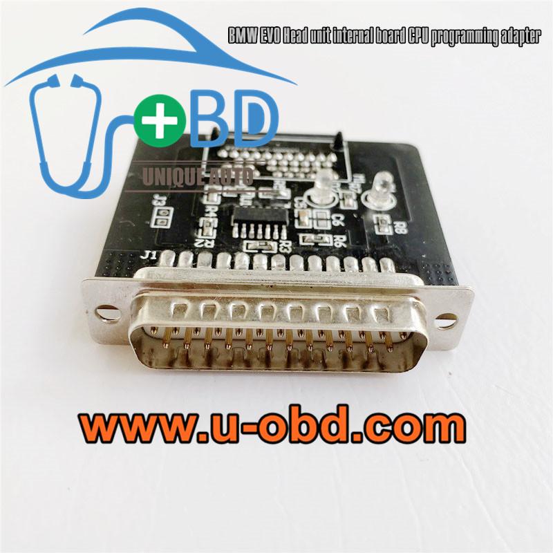 BMW EVO Headunit control board programming tools adapters