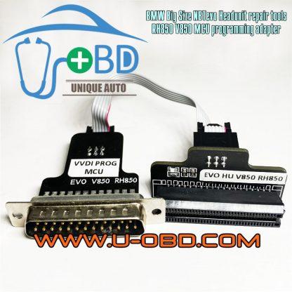 BMW NBTevo Headunit repair tools MCU Chip D70F3558 RFF7010573 programming adapter