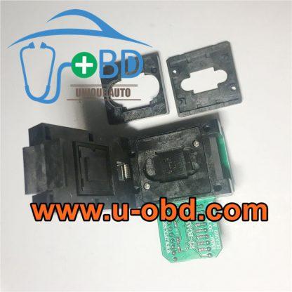 BMW audio host EMMC chip BGA169 EMPC153 Programming adapter socket