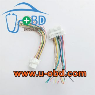 Car on board diagnosis interface OBD2 connector