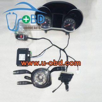 Mercedes Benz W205 W213 W222 Chassis C-Class E-Class S-Class N80 Steering column module ABS Module test platform