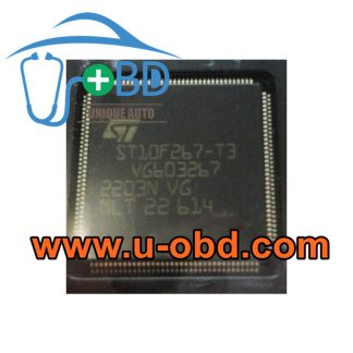ST10F267-T3 BUICK ABS ECU ABS Module vulnerable chips