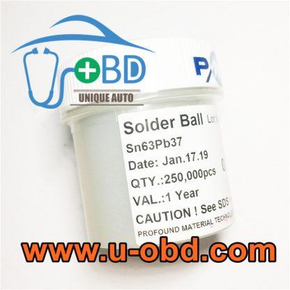 BGA chip Rework lead solder ball