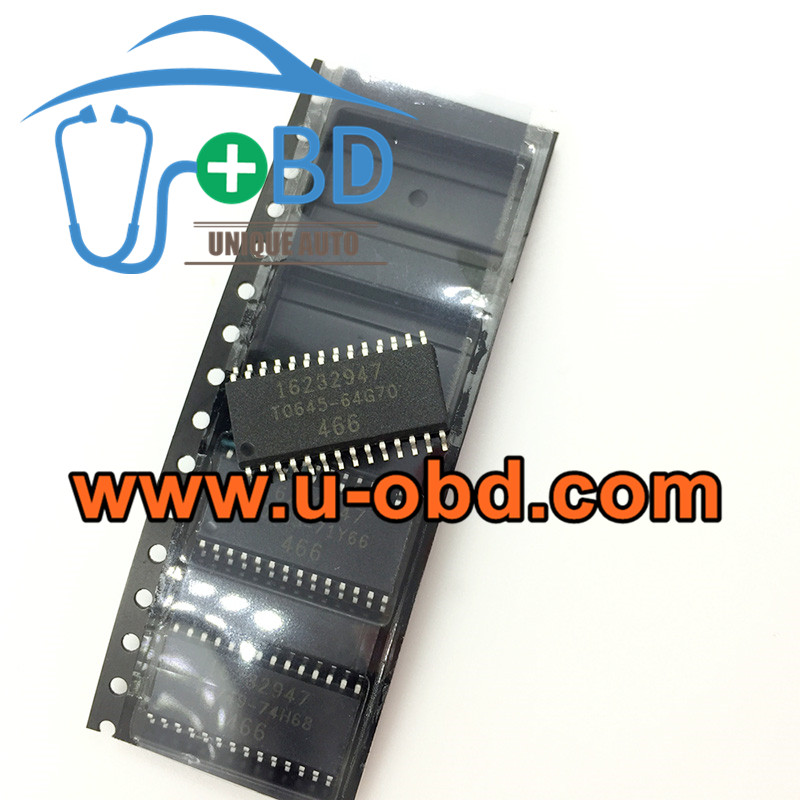 16232947 Car ECU Commonly used ECM driver chips