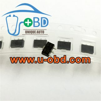 GA Car ECU commonly used vulnerable ignition driver chips