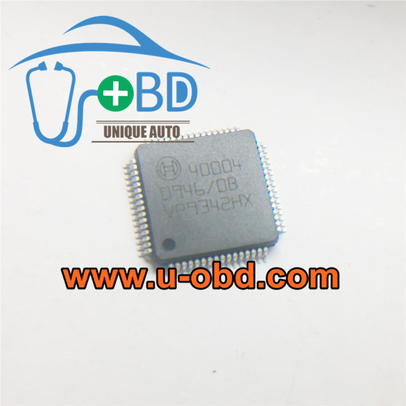 40004 BOSCH ECU ECM Commonly used chips