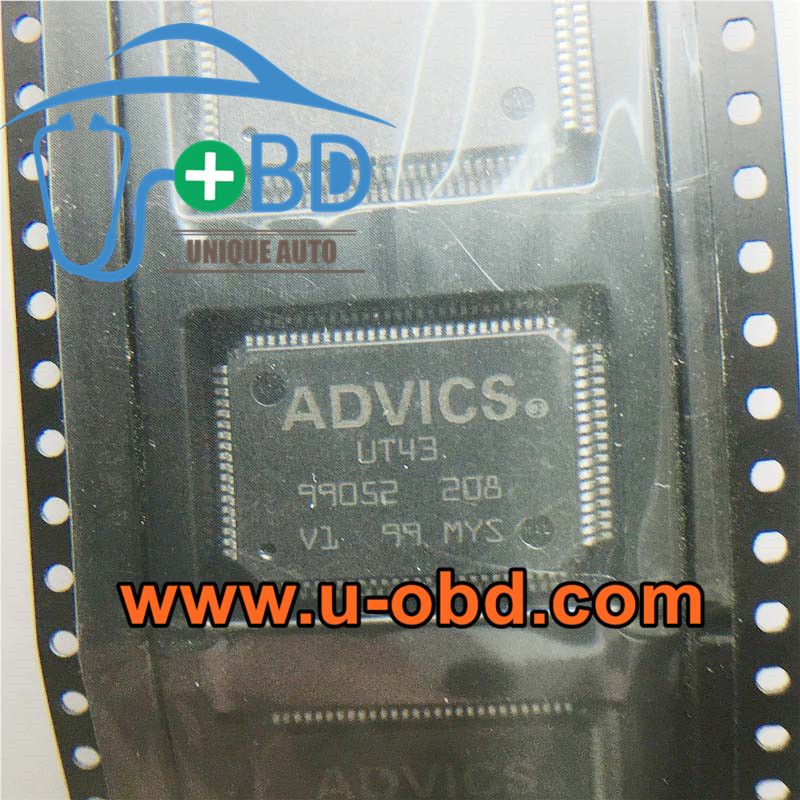 ADVICS UT43 TOYOTA ABS Module commonly used driver chip