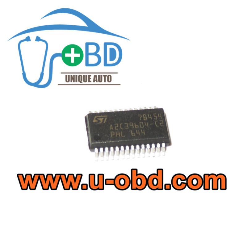A2C39604-C2 Automotive ECM ECU commonly used control chips