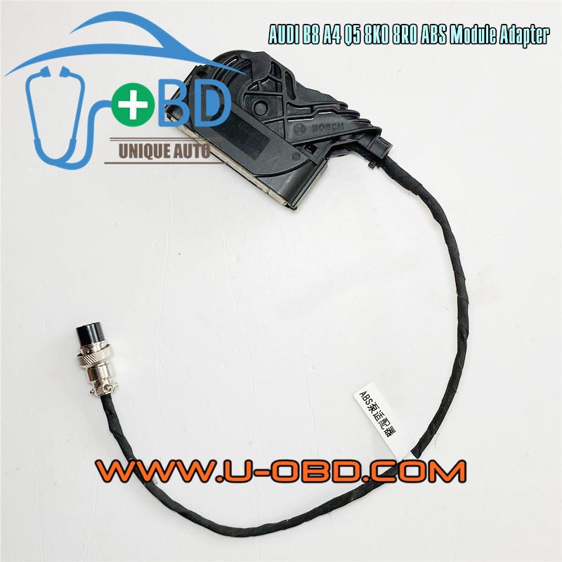 AUDI B8 A4 Q5 ABS module 8K0 8R0 Typ Steuergeraet ESP test platform