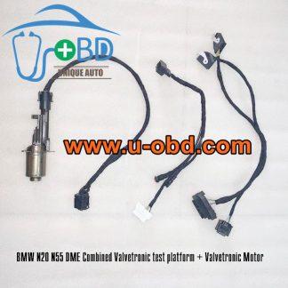 BMW N20 N55 DME Combined Valvetronic motor test platform