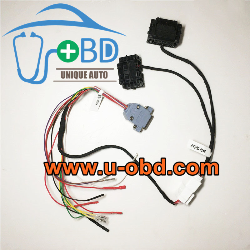 BMW B48 B58 DME ISN Reading clone cable connector AT200