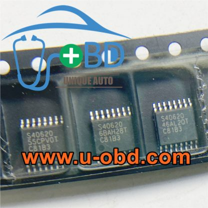 S40620 Car ECM ECU control unit vulnerable chipset