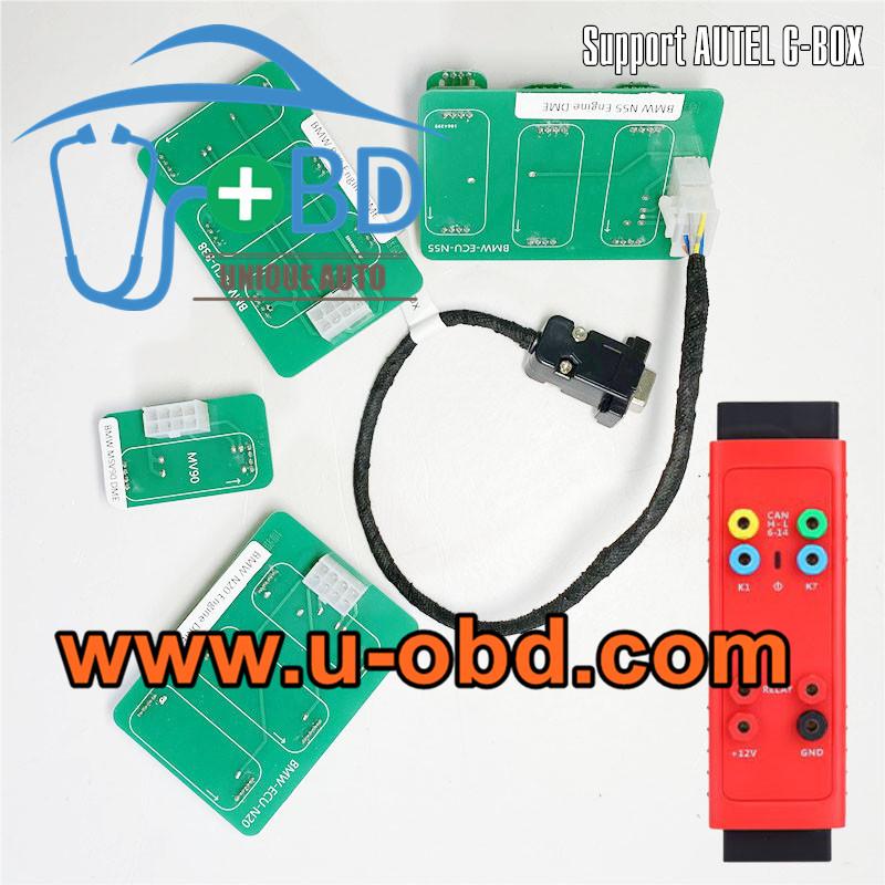 AUTEL G-BOX BMW B38 N20 N52 N55 MSV90 BOSCH MEVD172 DME Clone cable ISN Reading adapter