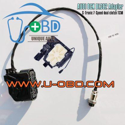 AUDI 0CK DL382 S-tronic 7 Speed dual clutch transmission Audi A6 S6 A7 TCM adapter