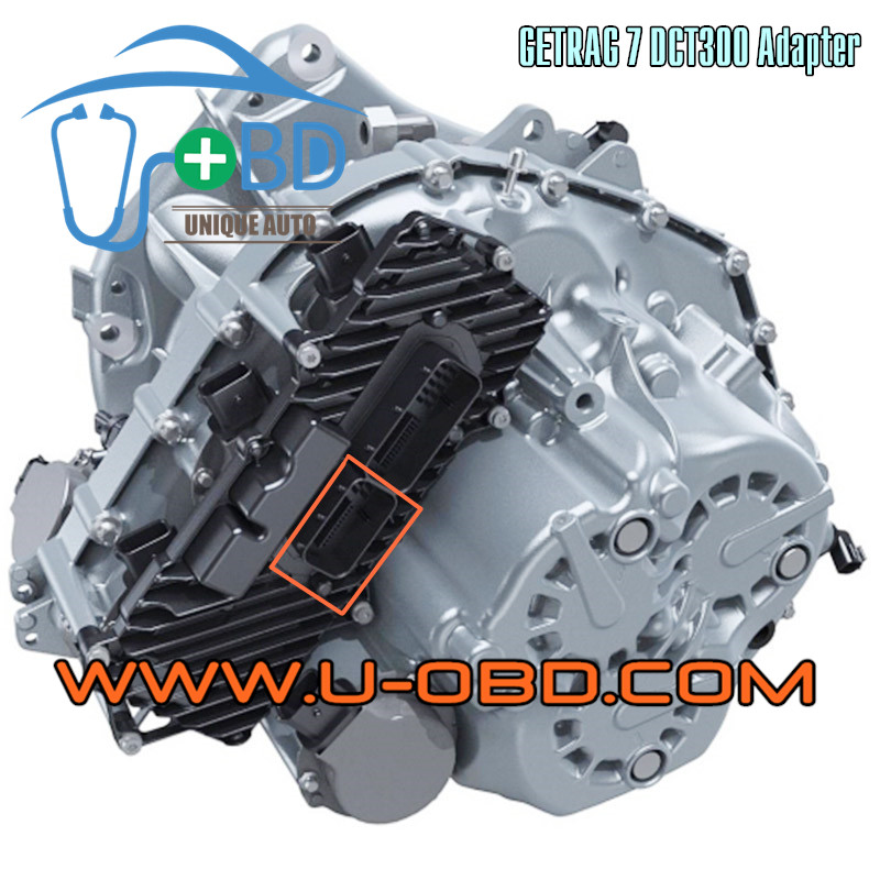 GETRAG 7 DCT300 transmission TCU TCM Adapter