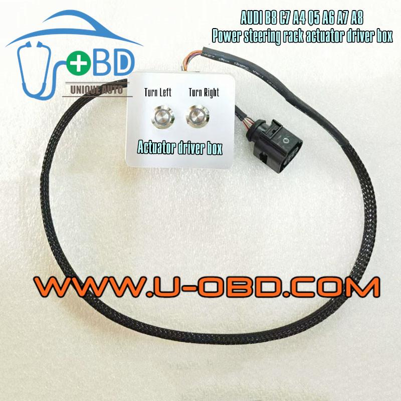 AUDI B8 A4 Q5 C7 A6 A7 A8 Power steering module actuator driver box